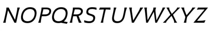 Plathorn Extended Regular Italic Font UPPERCASE