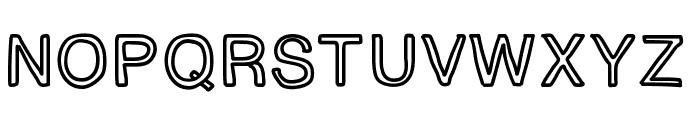 PLAQUE Font LOWERCASE