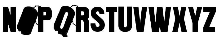 PLATOoN Font UPPERCASE