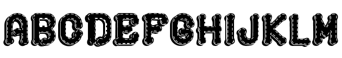 PLAYGROUND 3D Font UPPERCASE