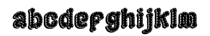 PLAYGROUND 3D Font LOWERCASE