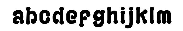 PLAYGROUND Font LOWERCASE