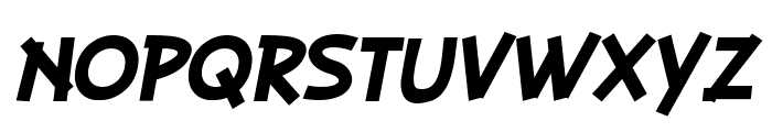 PLAYSIR Italic Font UPPERCASE