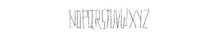 PLENTYofMETAL Font UPPERCASE