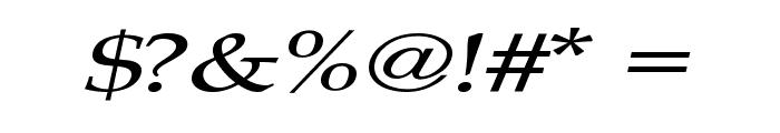 Plain Squashed Font OTHER CHARS