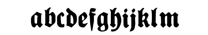 PlakatFraktur Font LOWERCASE