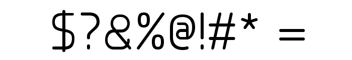 Planer Font OTHER CHARS