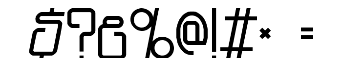 Planet Dust Font OTHER CHARS