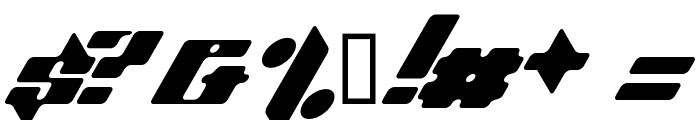 Planet Kosmos Font OTHER CHARS