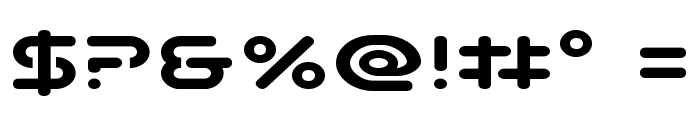 Planet N Compact Expanded Font OTHER CHARS