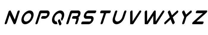 Planet N Condensed Italic Font LOWERCASE