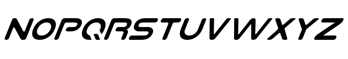 Planet NS Italic Font LOWERCASE
