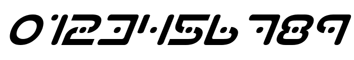 Planet S Italic Font OTHER CHARS