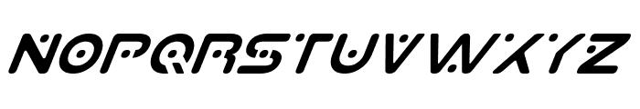 Planet S Italic Font LOWERCASE