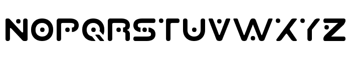 Planet S Font LOWERCASE