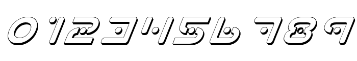 Planet X Shadow Italic Font OTHER CHARS