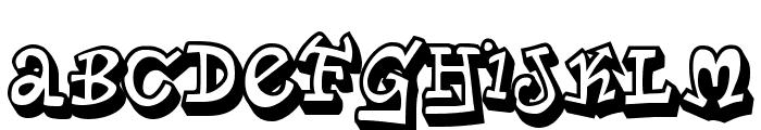 PlanetBensonTwo-Regular Font UPPERCASE