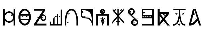 PlanetarishBats Font LOWERCASE