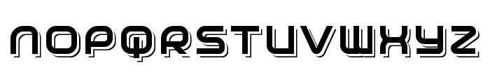 Planetium-X Shadowed Demo Font UPPERCASE