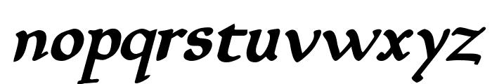 Planewalker Bold Italic Font LOWERCASE