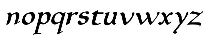 Planewalker Italic Font LOWERCASE