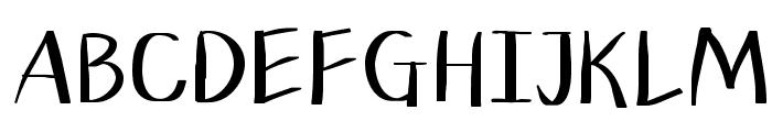 Planless-Bold Font UPPERCASE