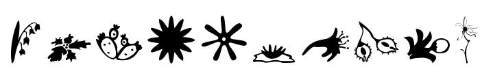 Plants Font OTHER CHARS