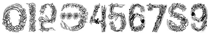 PlantsLetters Font OTHER CHARS