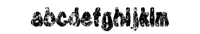 Plaque-Man-Open Font LOWERCASE