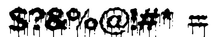 Plasma Drip [BRK] Font OTHER CHARS