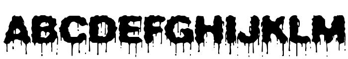 Plasma Drip [BRK] Font UPPERCASE