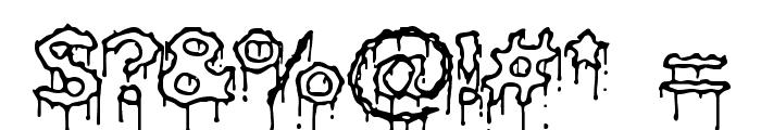 Plasma Drip [Empty] [BRK] Font OTHER CHARS