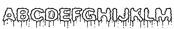 Plasma Drip [Empty] [BRK] Font UPPERCASE