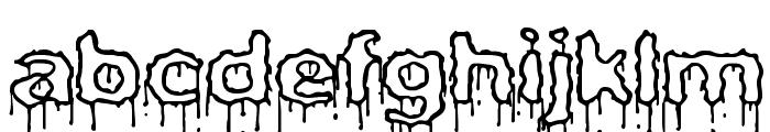 Plasma Drip [Empty] [BRK] Font LOWERCASE