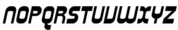 Plasmatica Bold Italic Font UPPERCASE