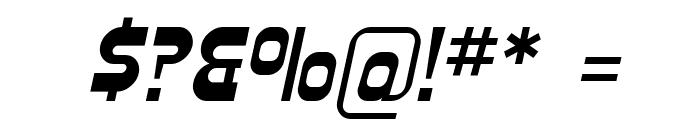 Plasmatica Italic Font OTHER CHARS
