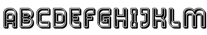 Plasmatica Open Font UPPERCASE