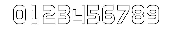 Plasmatica Outline Font OTHER CHARS