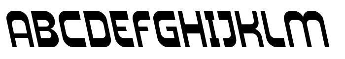 Plasmatica Rev Italic Font UPPERCASE