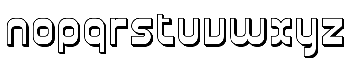 Plasmatica Shaded Font LOWERCASE