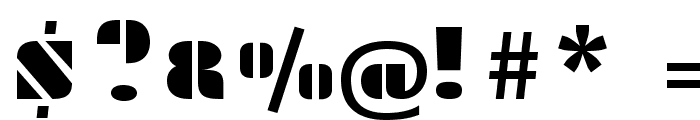 Plaster-Regular Font OTHER CHARS