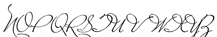 PlasterofParis Font UPPERCASE