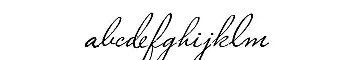 PlasterofParis Font LOWERCASE