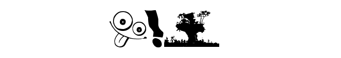 Plastic Beach Font OTHER CHARS