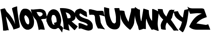 Plastic Beach Font UPPERCASE