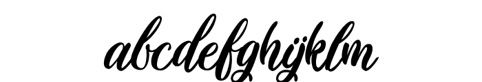 Plastic Beauty Light Font LOWERCASE