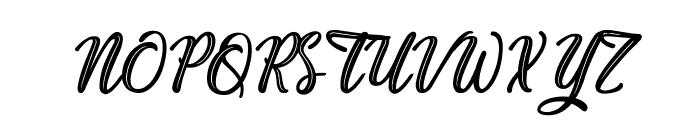 Plastic Beauty Font UPPERCASE