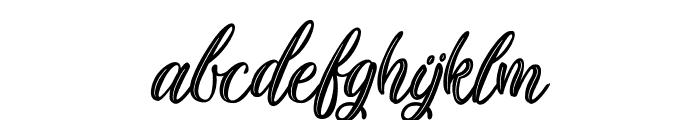Plastic Beauty Font LOWERCASE