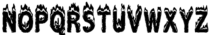 Plastic Explosive Font LOWERCASE