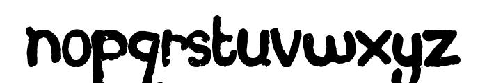 Plasticine Font LOWERCASE